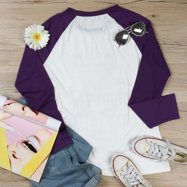 Thankful Long Sleeves Feather T-Shirt 2