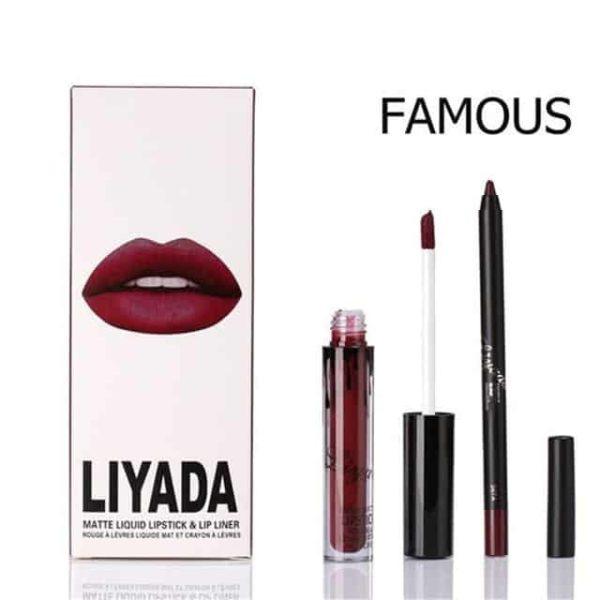 New Liquid Matte Lipstick Lips Pencil Makeup 8