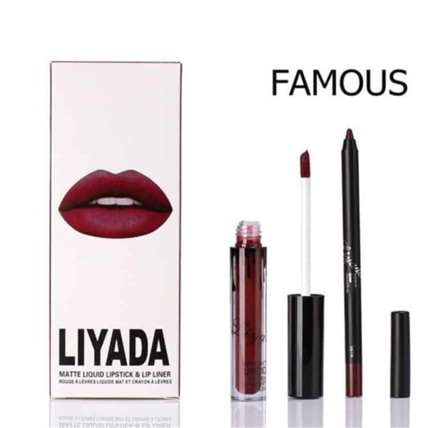 New Liquid Matte Lipstick Lips Pencil Makeup 4