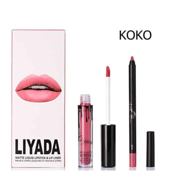New Liquid Matte Lipstick Lips Pencil Makeup 11