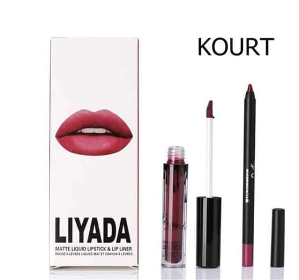 New Liquid Matte Lipstick Lips Pencil Makeup 12