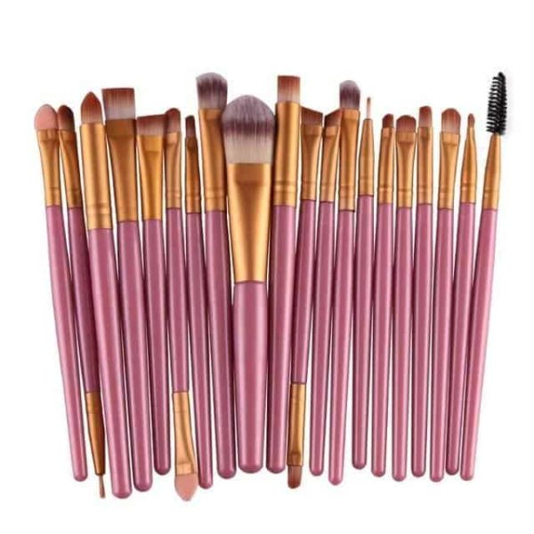20Pcs Cosmetic Makeup Brushes 9