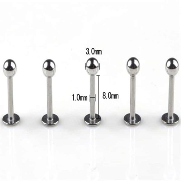 Tragus Piercing Surgical Body Piercing 5Pcs 1