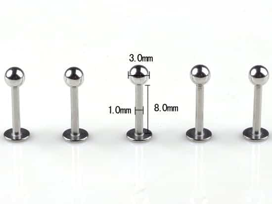Tragus Piercing Surgical Body Piercing 5Pcs 6