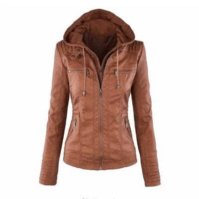 Faux Leather Motorcycle Jackets 8
