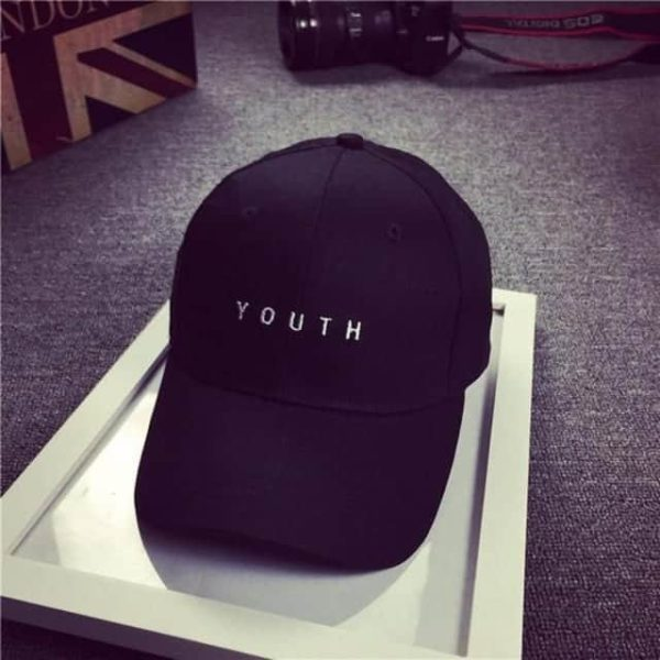 Feitong Fashion baseball Cap Black White Hat Snapback Women Cap 8