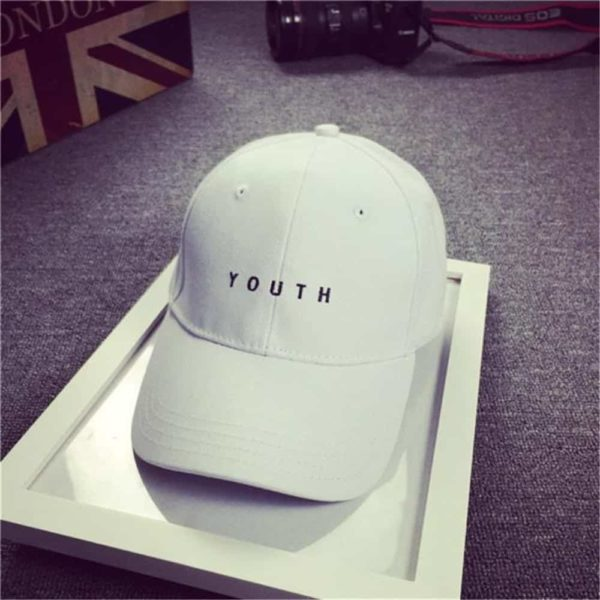 Feitong Fashion baseball Cap Black White Hat Snapback Women Cap 4