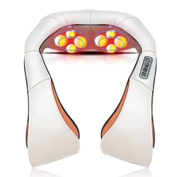 Neck Massager Electric Infrared Heating Massage Device Back Body Physiotherapy Equipment 1