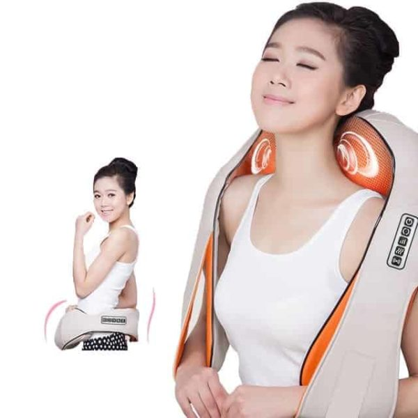 Neck Massager Electric Infrared Heating Massage Device Back Body Physiotherapy Equipment 7