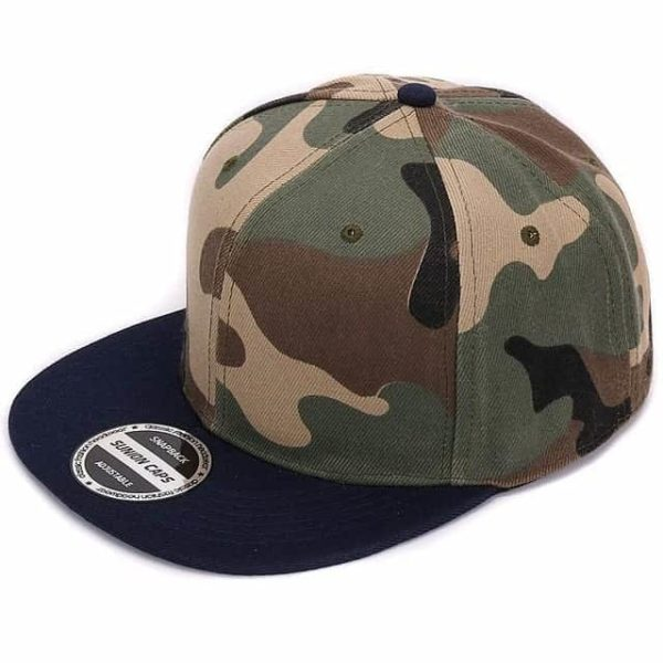 Camouflage Snapback Polyester Cap Baseball Cap 8