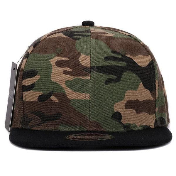 Camouflage Snapback Polyester Cap Baseball Cap 3