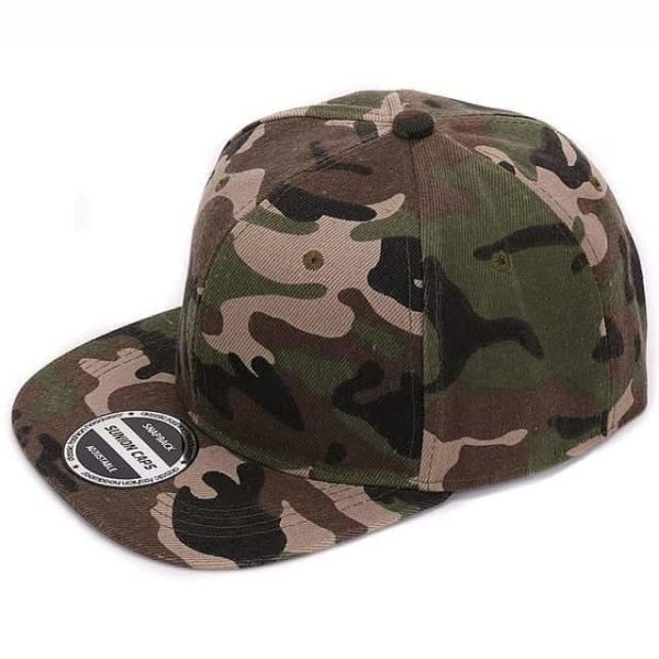 Camouflage Snapback Polyester Cap Baseball Cap 9