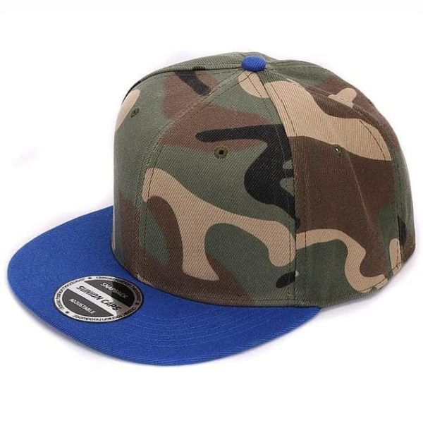 Camouflage Snapback Polyester Cap Baseball Cap 10
