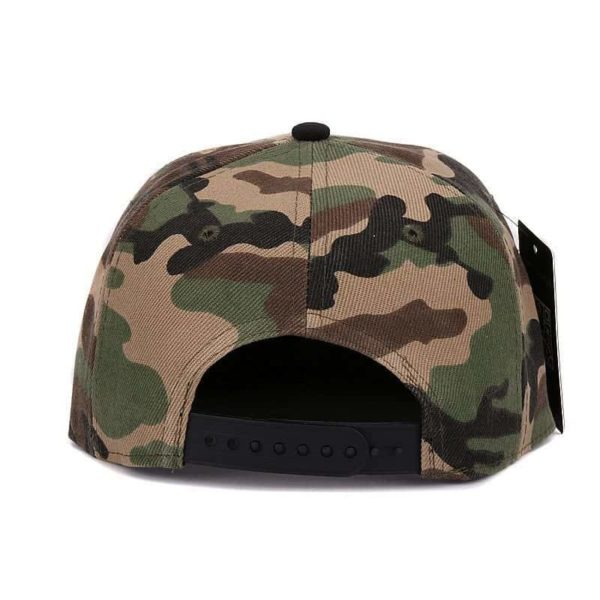 Camouflage Snapback Polyester Cap Baseball Cap 5