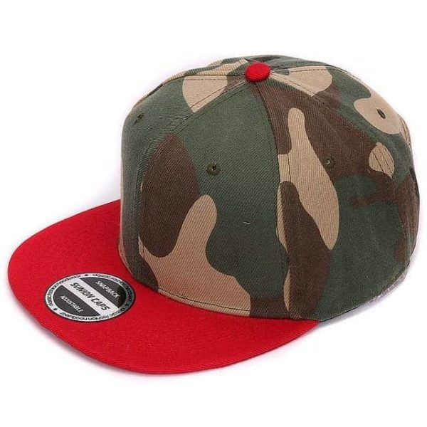 Camouflage Snapback Polyester Cap Baseball Cap 11