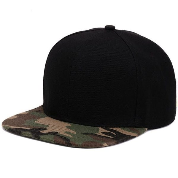 Camouflage Snapback Polyester Cap Baseball Cap 12