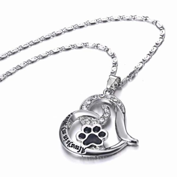 """Heart Love Engraved """"Always in my Heart"""" Necklaces & Pendant 6"""