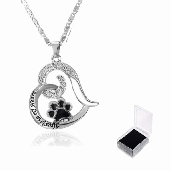 """Heart Love Engraved """"Always in my Heart"""" Necklaces & Pendant 1"""