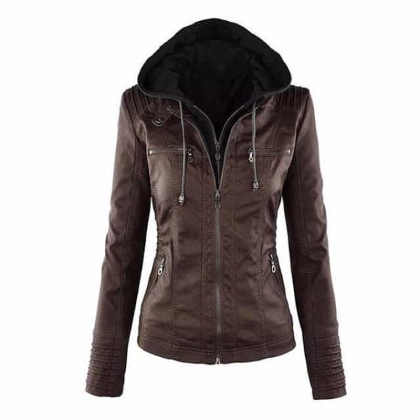 Faux Leather Motorcycle Jackets 7