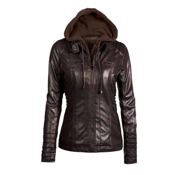 Faux Leather Motorcycle Jackets 3