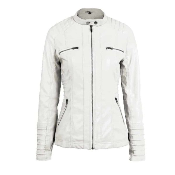Faux Leather Motorcycle Jackets 5