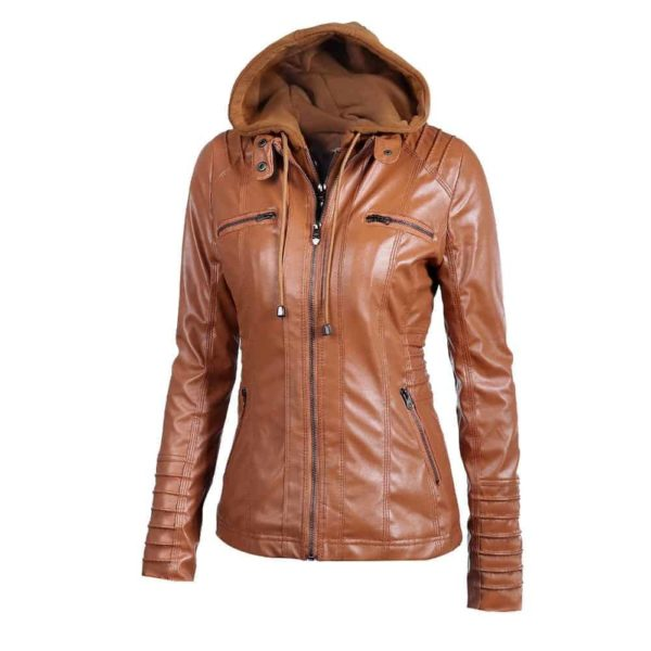 Faux Leather Motorcycle Jackets 1