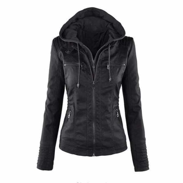 Faux Leather Motorcycle Jackets 6