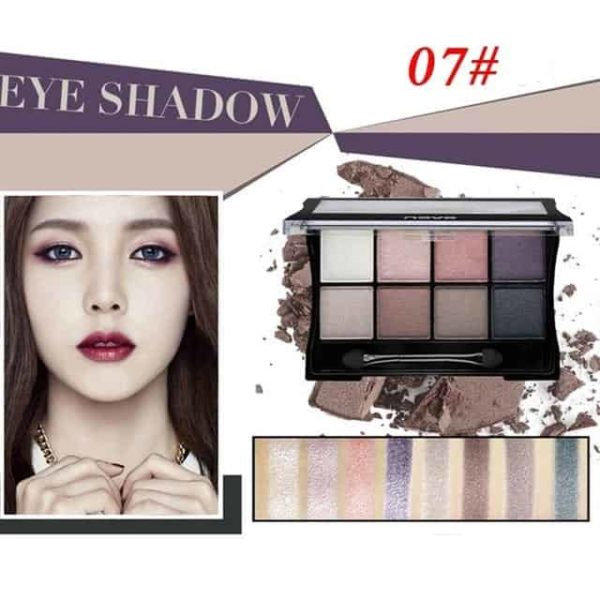 Makeup Palettes Cosmetic With Brush 7