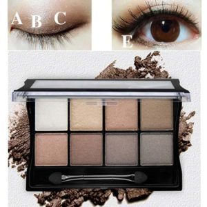Makeup Palettes Cosmetic With Brush Set