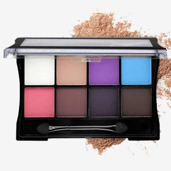 Makeup Palettes Cosmetic With Brush 4
