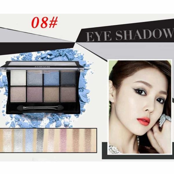 Makeup Palettes Cosmetic With Brush 5