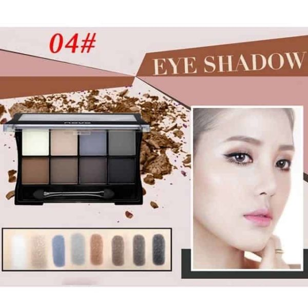 Makeup Palettes Cosmetic With Brush 11