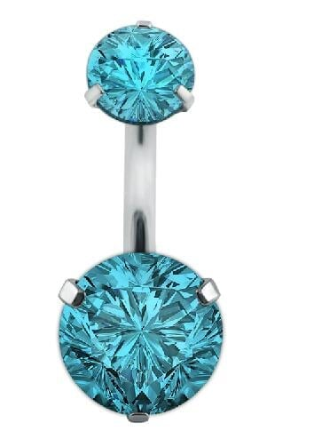 New Zircon Jeweled Style Belly Button Ring 4