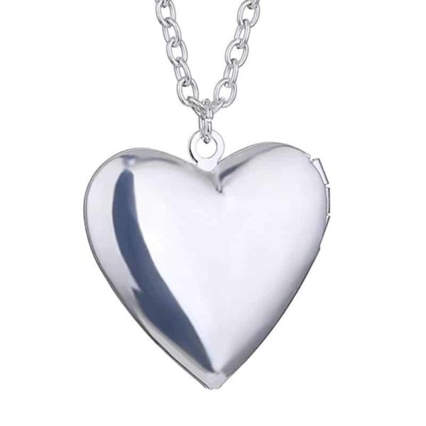 Openable Pendant Heart Love Aromatherapy Locket Essential 3