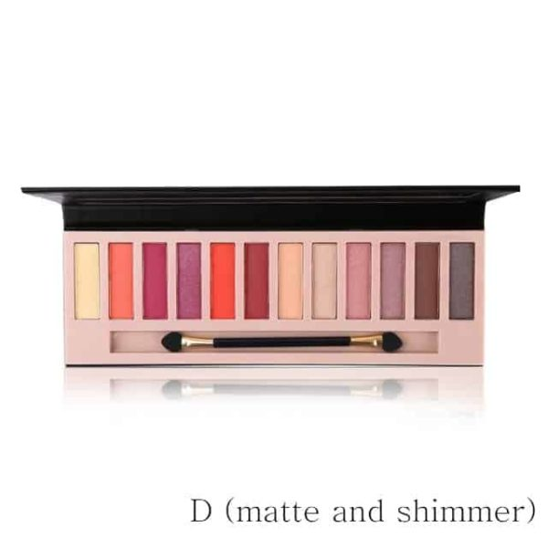 Naked Matte Eyeshadow Makeup Palette 9