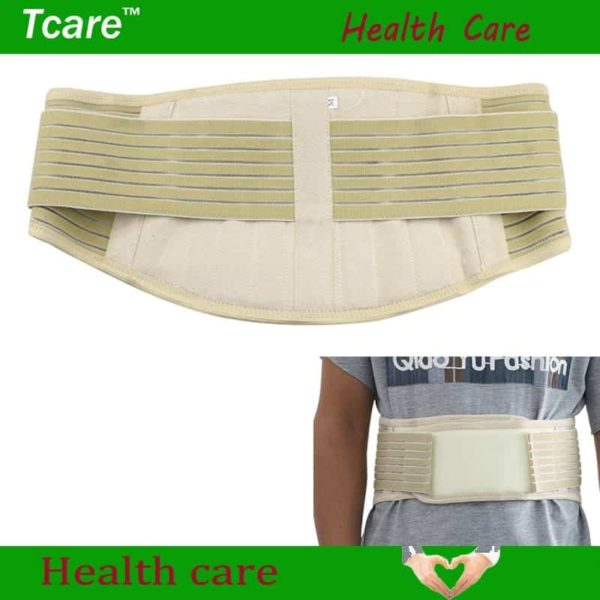 Tourmaline Adjustable Self-heating Lower Pain Relief Magnetic Therapy Waist Support 1Pcs 2