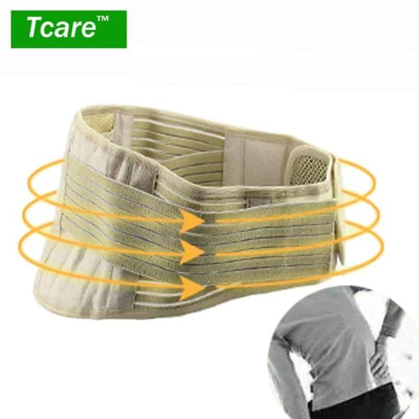 Tourmaline Adjustable Self-heating Lower Pain Relief Magnetic Therapy Waist Support 1Pcs 1