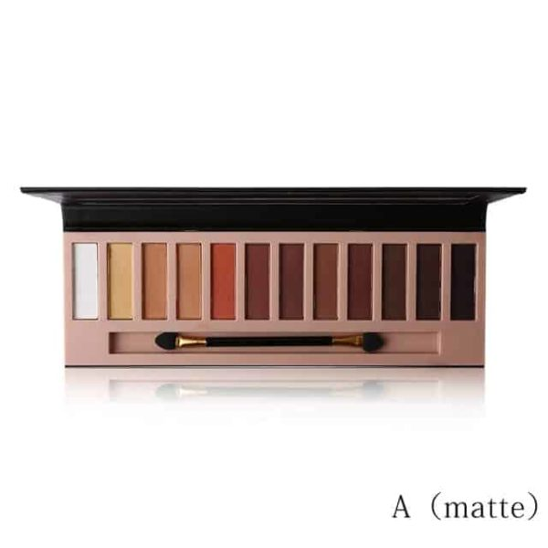 Matte Eyeshadow Makeup Palette 12 Colors 7