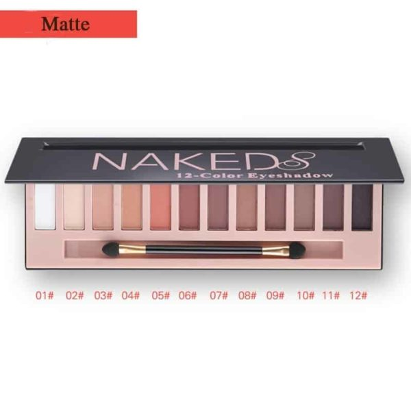 Matte Eyeshadow Makeup Palette 12 Colors 2