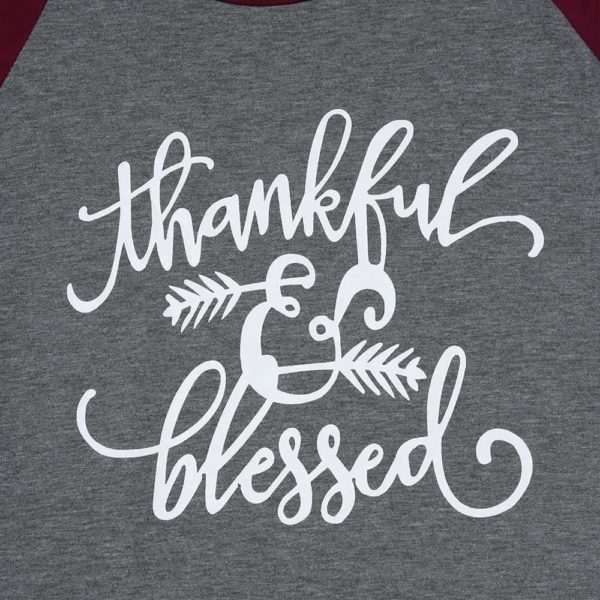 Thankful And Blessed T-Shirt 1