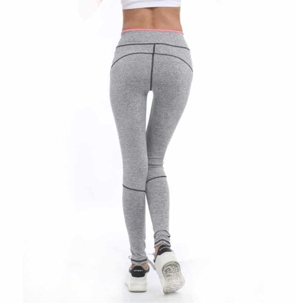 Lady Active Wear Pink Legging Spring High Waist Leggings 4
