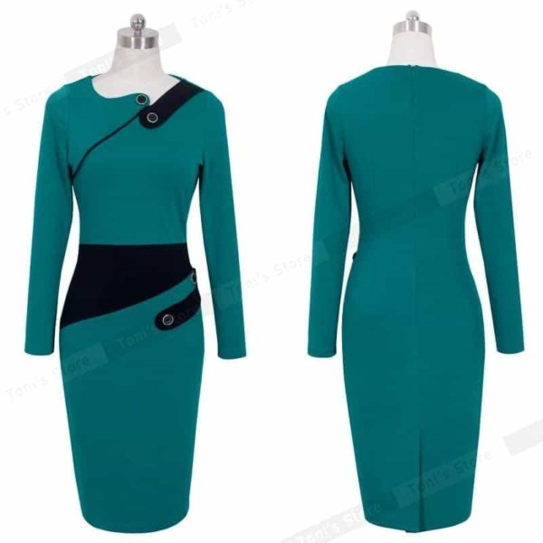 Nice-forever-Business-Female-Pencil-Dress-Elegant-Lady-Illusion-Patchwork-Sheath-Buttons-Fitted-Women-Bodycon-Bandage-4.jpg