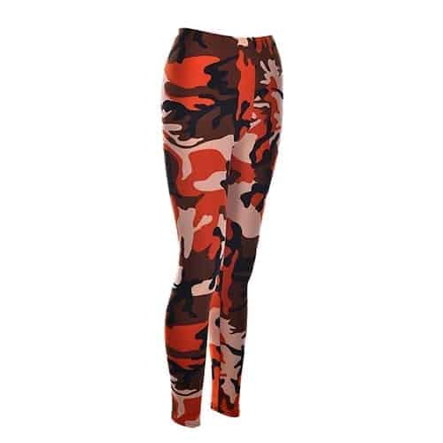 Sexy Fashionable Women Camouflage Army Green Stretch Leggings 3