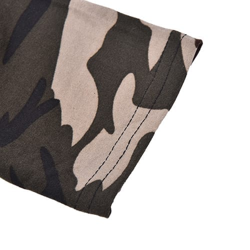 Sexy Fashionable Women Camouflage Army Green Stretch Leggings 6