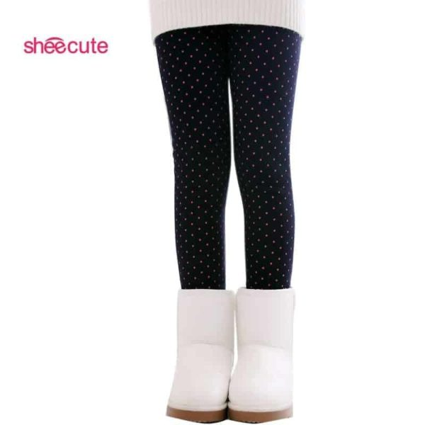 SheeCute Spring Autumn Winter Fashion Cotton Girls Warm Pant 2