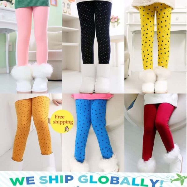 SheeCute Spring Autumn Winter Fashion Cotton Girls Warm Pant 4