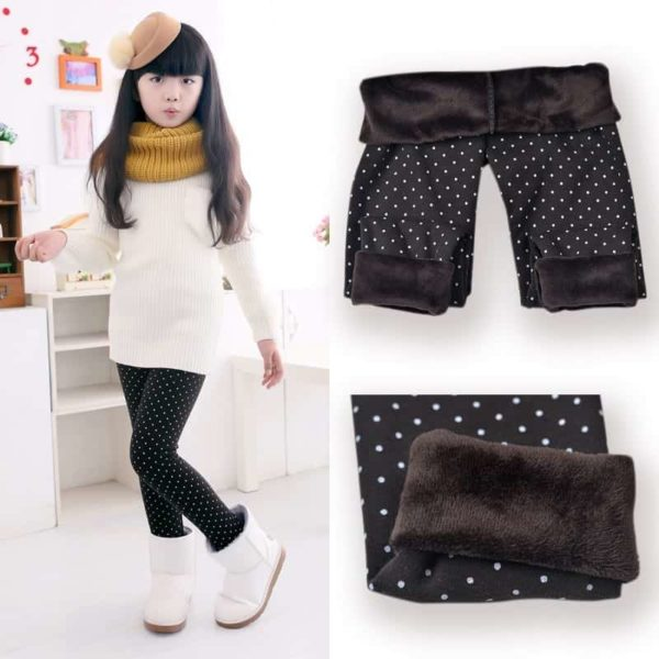 SheeCute Spring Autumn Winter Fashion Cotton Girls Warm Pant 1