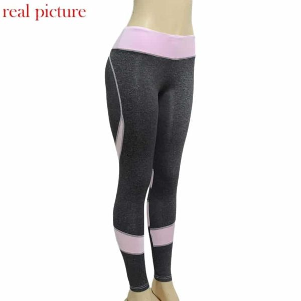 Patchwork Heart Hip Sportswear Bodybuilding Slim Leggings 3