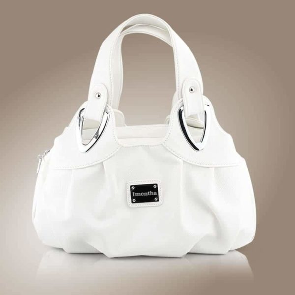 Flower Pattern Top-Handle Leather Bags for Women 2