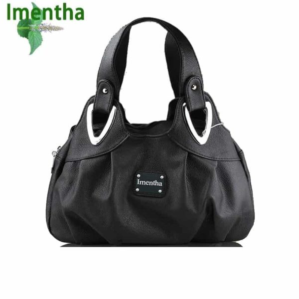 Flower Pattern Top-Handle Leather Bags for Women 1